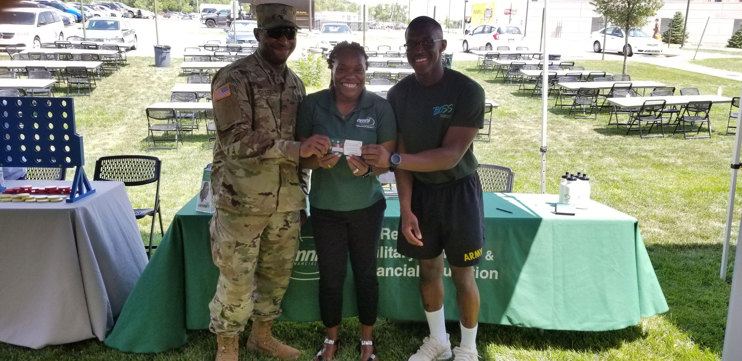 Omni Military Loans BOSS BBQ at Fort Riley in Junction City, Kansas sponsorship