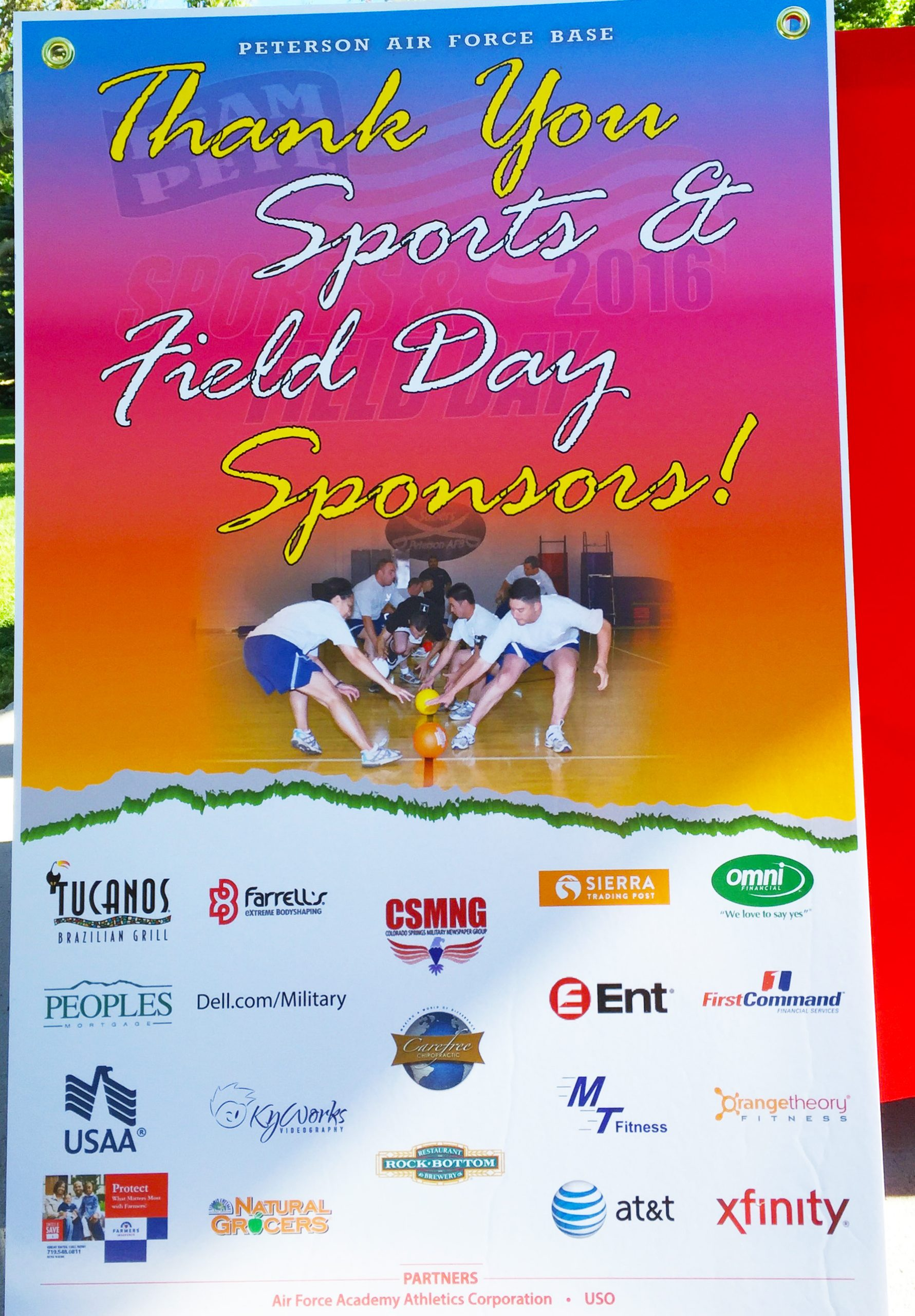 Peterson AFB Sports and Field Day