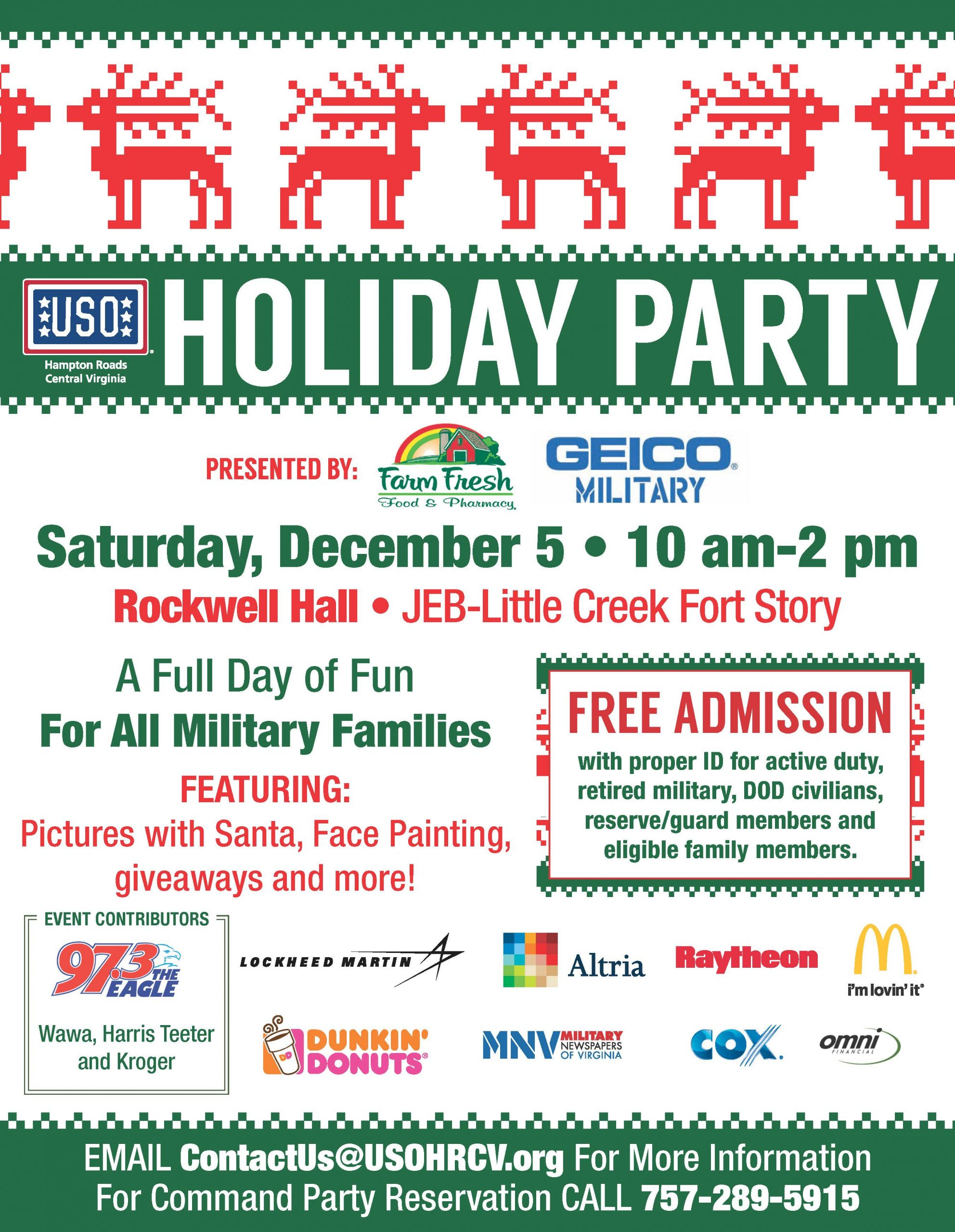 USO Holiday Party