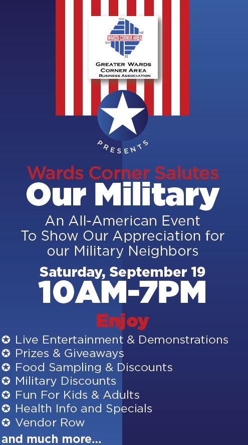 Wards Corner Business Association Salutes the Military