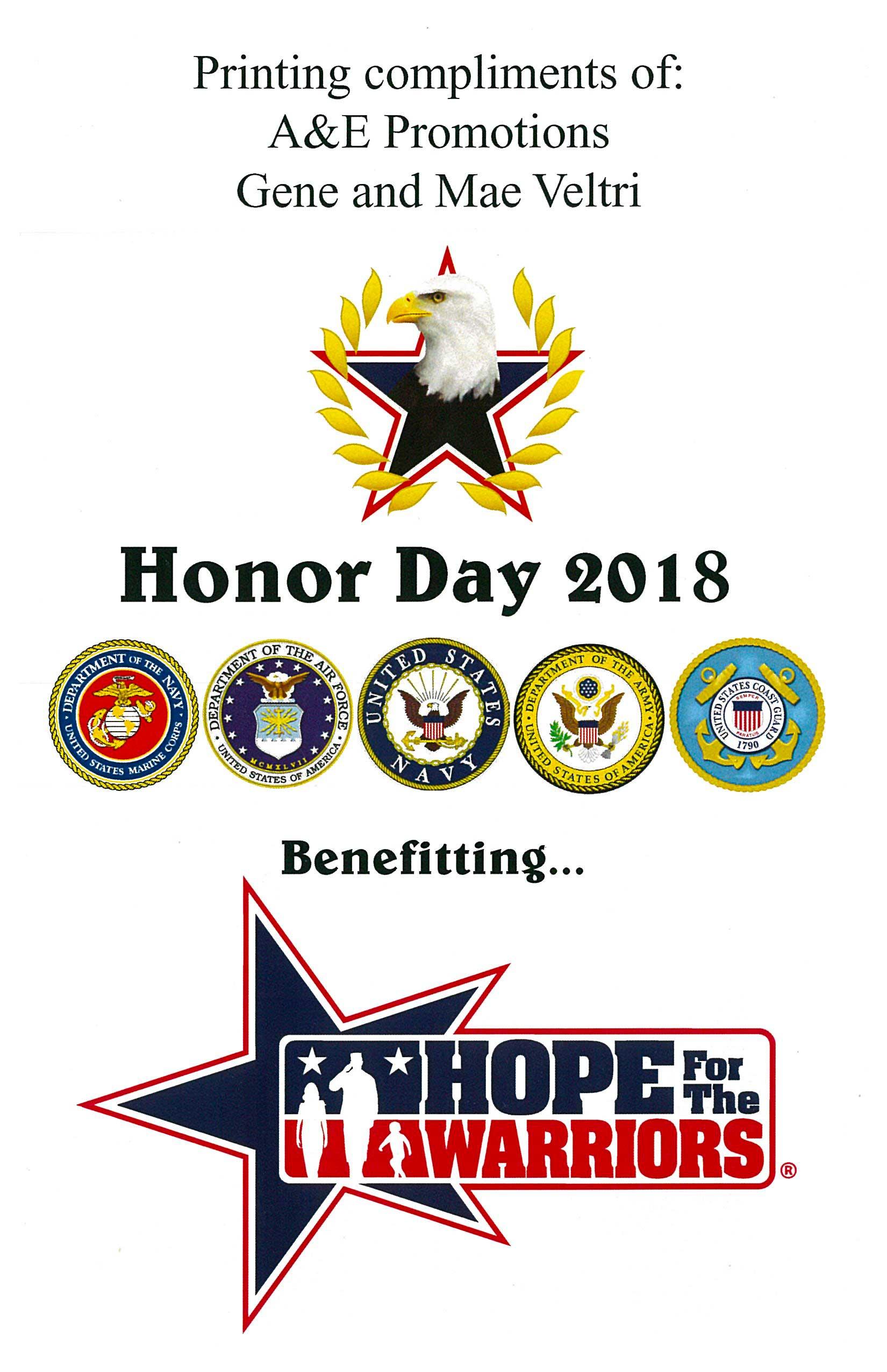 10th Annual Honor Day at Eagle Oaks