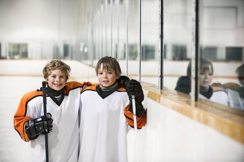Helping Military Kids Play Hockey