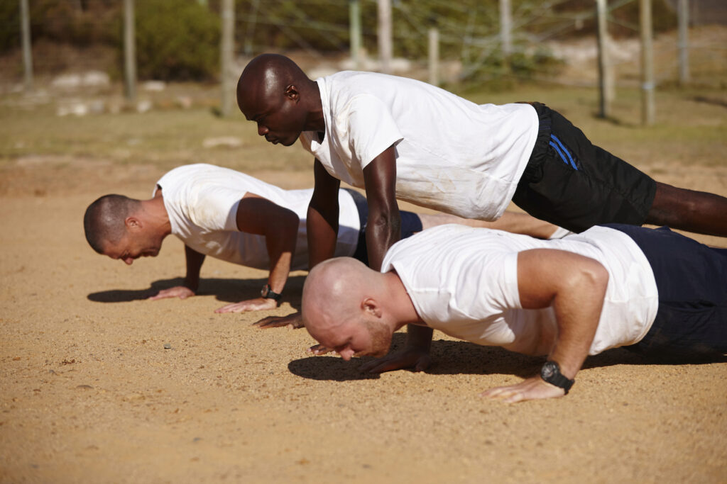 Army's Basic Training Physical Fitness Test