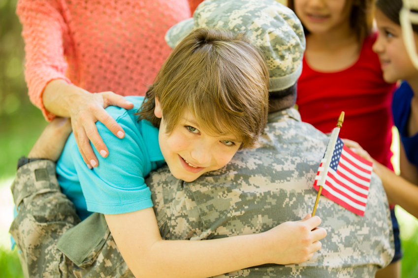 Honor the Month of the Military Child