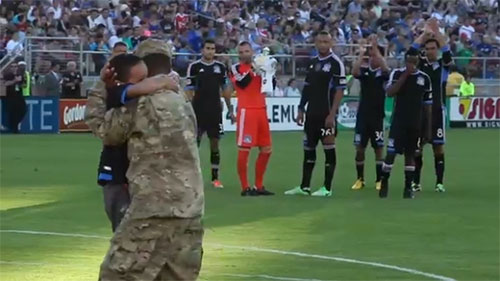 Top 10 Surprise Military Homecomings