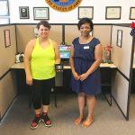Omni Financial Newport News, VA: Customer Megan with Customer Care Specialist Brittany