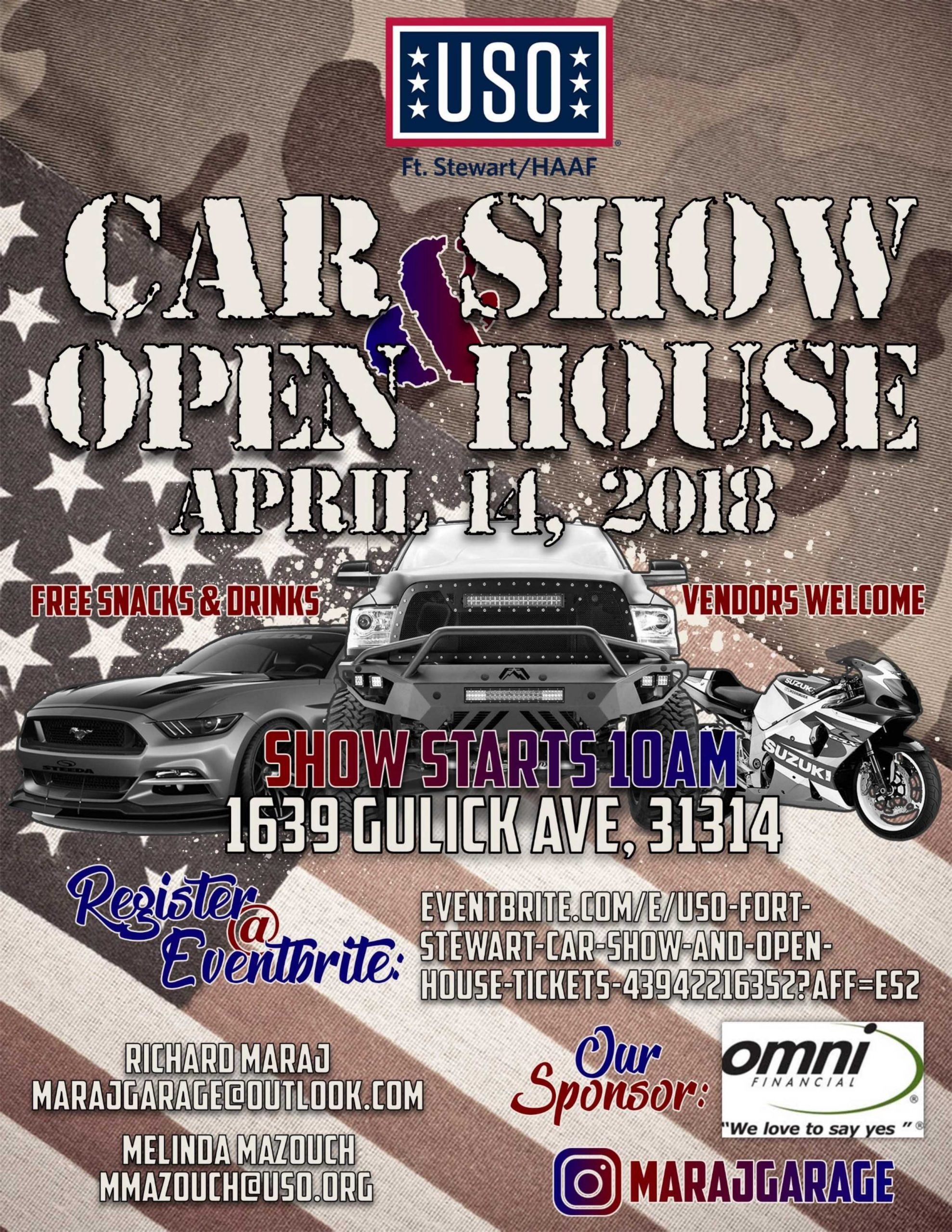 USO Car Show and Open House